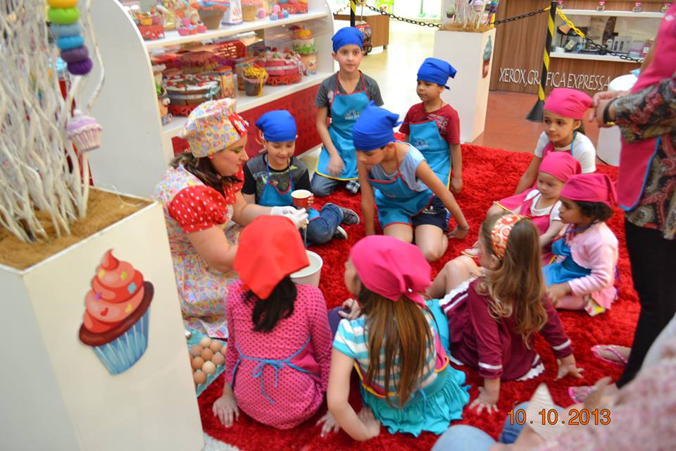 Aprenda a fazer cupcakes para divertir e agradar a criançada - Royal Plaza Shopping