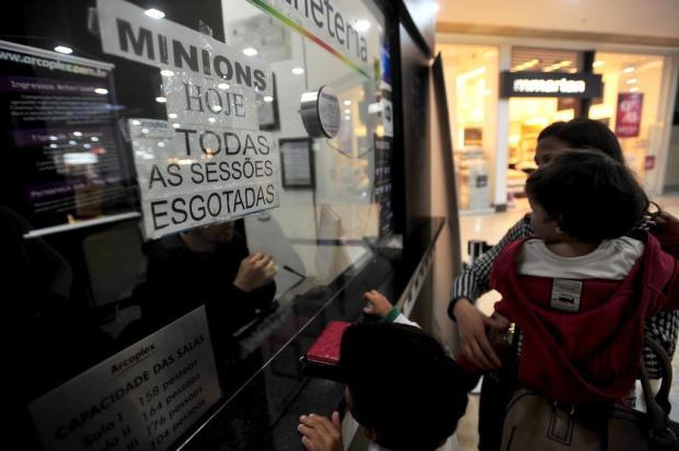 Os Minions são sucesso de bilheteria em Santa Maria - Royal Plaza Shopping