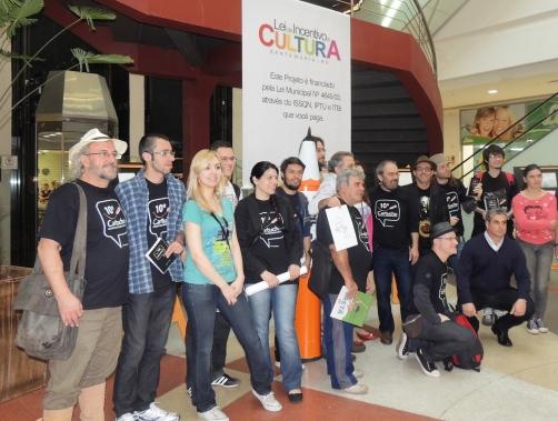 O 10º Cartucho – Encontro de Cartunistas Gaúchos foi sucesso em Santa Maria - Royal Plaza Shopping