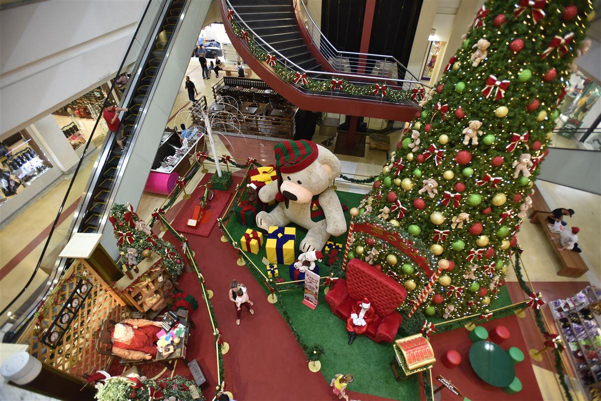 Shoppings apostam em decorações de Natal interativas - Royal Plaza Shopping