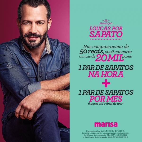 8580ad51f5 Começou na Marisa a promoção Loucas por Sapato
