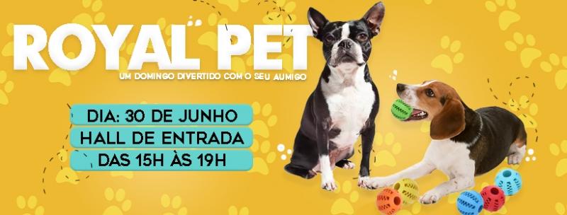 Royal Pet acontece no próximo domingo - Royal Plaza Shopping