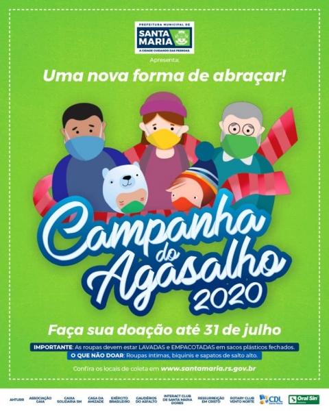 Royal é parceiro da Campanha do Agasalho 2020 - Royal Plaza Shopping