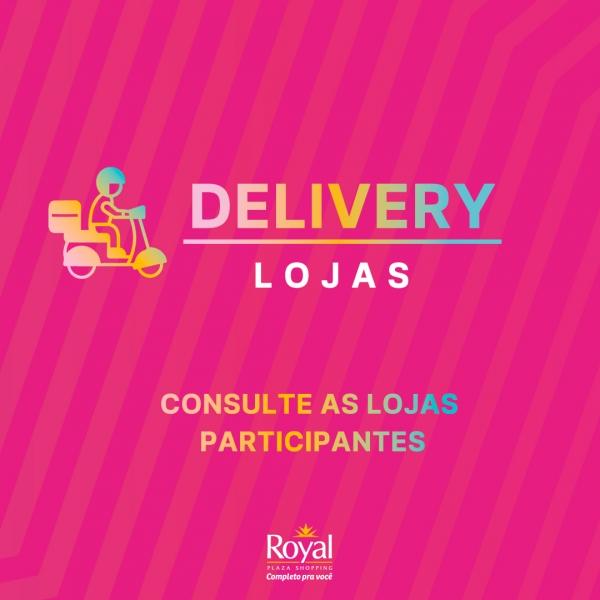 Lojas com delivery - Royal Plaza Shopping
