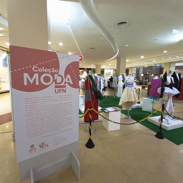 Mostra do curso de Design de Moda da Universidade Franciscana - Royal Plaza Shopping